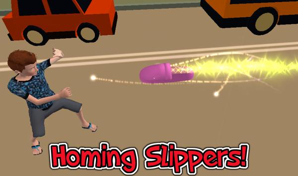 Mom's Slippers – 3d run poster