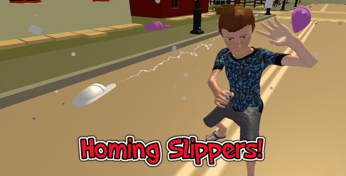 Mom's Slippers – 3d run apk screenshot