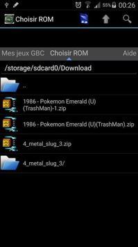 GBA emulator screenshot 2