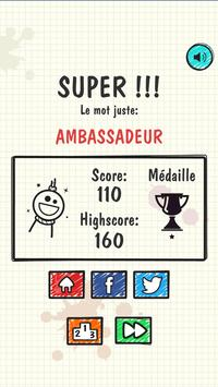 Awesome Hangman (French) apk screenshot