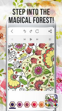 Enchanted Forest Coloring Book Poster Apk Screenshot