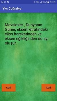 Yks Coğrafya screenshot 2