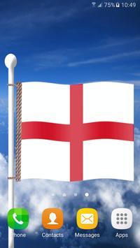 علم إنجلترا خلفيه متحركه 3d apk تصوير الشاشة