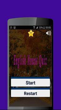 English Nouns  Quiz screenshot 1
