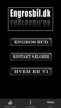 Engros Biler poster