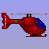 Flying Helicopter icon