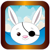 strategy war of rabbit pirate icon