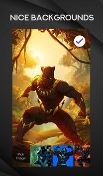 Black Panther Wallpaper Arts Smart Lock Screen screenshot 1