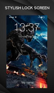 Black Panther Wallpaper Arts Smart Lock Screen screenshot 2