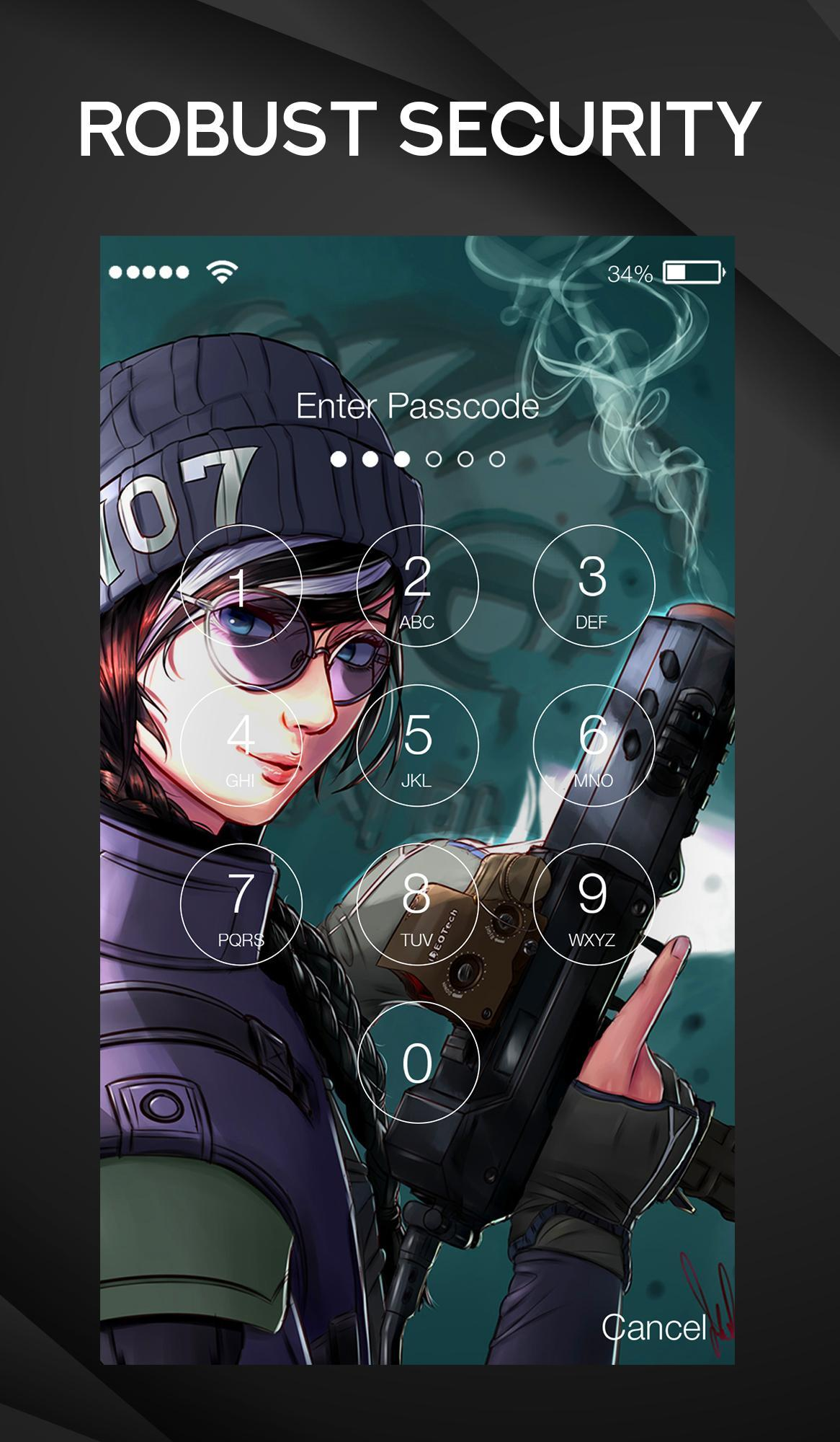 Dokkaebi Wallpaper Rainbow Six Siege Lock Screen For Android Apk