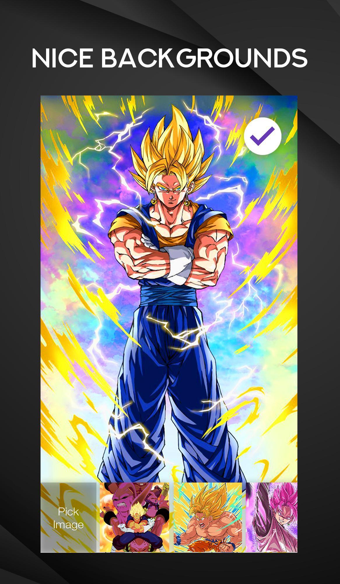 Dragon Ball Z Fanarts Dbs Goku Dbz Lock Screen For Android Apk