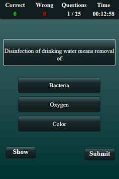 Environmental Engineering Quiz screenshot 16