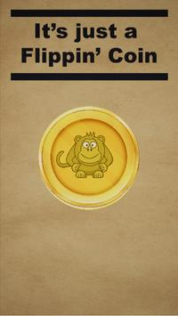 Just A Flippin Coin Free poster