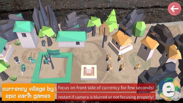 Currency Village AR apk screenshot