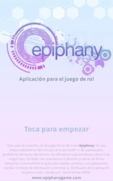 Epiphany poster