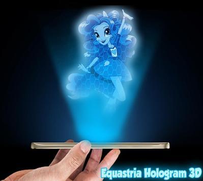 Equestrian Girls Hologram Joke poster