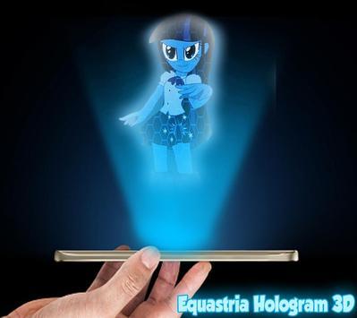 Equestrian Girls Hologram Joke screenshot 1