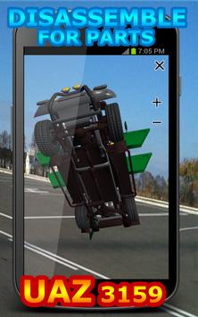 Disassemble for Parts UAZ 3159 screenshot 14