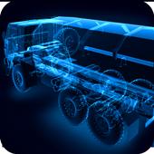 X-Ray KAMAZ Truck icon