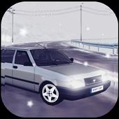Snow Car Driving Simulator icon