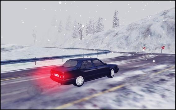Snow Car Driving Simulator screenshot 5