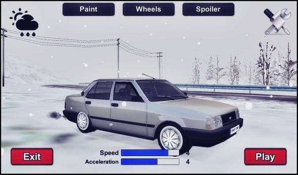 Snow Car Driving Simulator screenshot 6