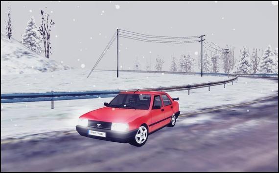 Snow Car Driving Simulator screenshot 3