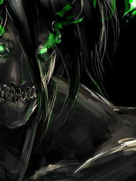 Eren Jaeger Titan Wallpaper Screenshot 3