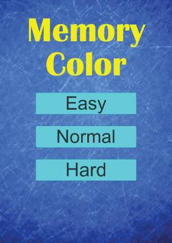 Memory Color poster