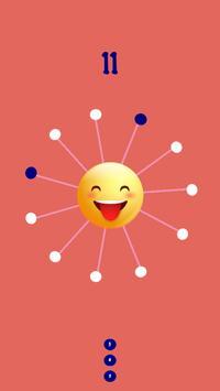 Emoji Impossible Dots captura de pantalla 2
