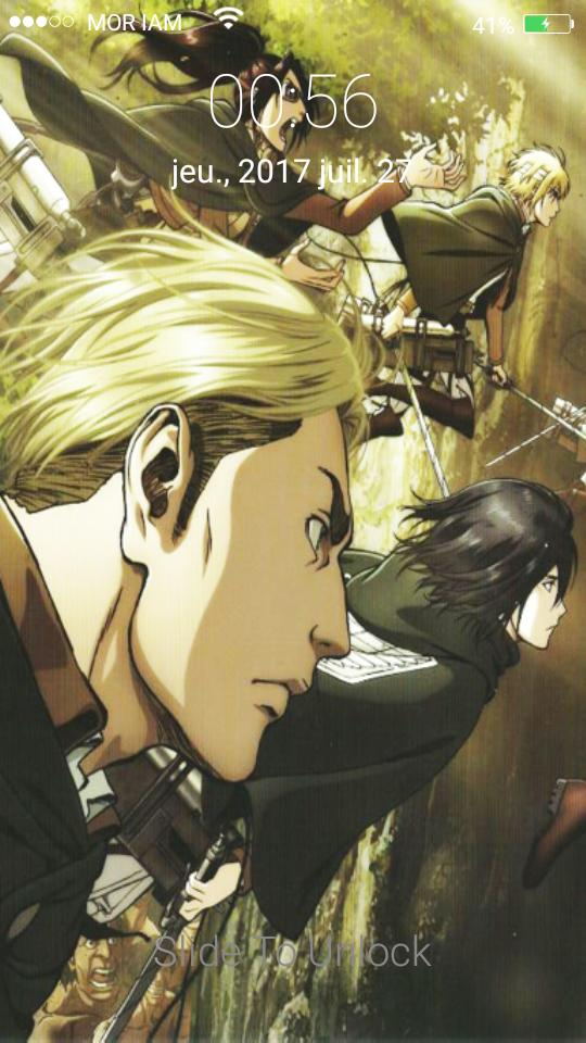 Erwin And Levi Lock For Attack Of Titan Theme Hd 2 For Android Apk Download