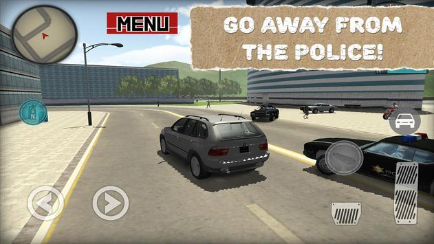 Escaped from Prison Driver apk screenshot