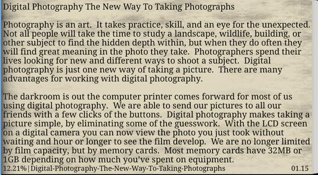 Essential of Photography apk screenshot