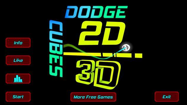 Dodge Cubes poster