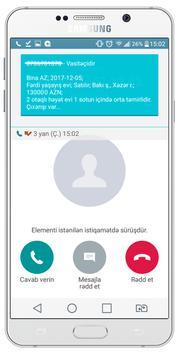 Əmlak Bazası (ZəngM) screenshot 1
