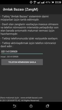 Əmlak Bazası (ZəngM) screenshot 2