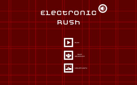 Electronic Rush poster