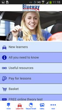 Blueway Driving School apk screenshot