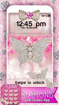 Diamond Lock Screen App poster