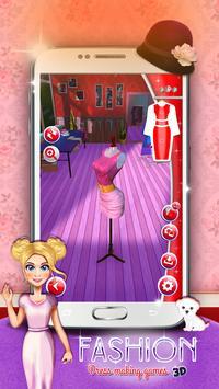 Fashion Dress Making Games 3D apk screenshot