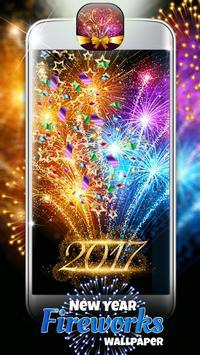 New Year Fireworks Wallpaper apk screenshot