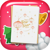 New Year Greeting Cards App icon