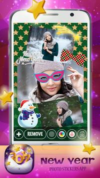 New Year Photo Stickers App 🎄 apk screenshot