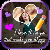Text on Photo App icon