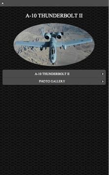 A-10 Thunderbolt II FREE poster