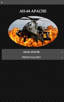 ⭐ AH-64 Apache Helicpoter FREE poster