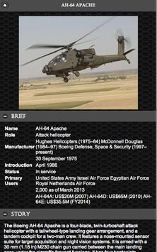 ⭐ AH-64 Apache Helicpoter FREE apk screenshot