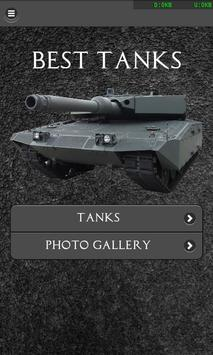 Best Tanks FREE poster