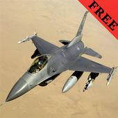 F-16 Fighting Falcon FREE icon