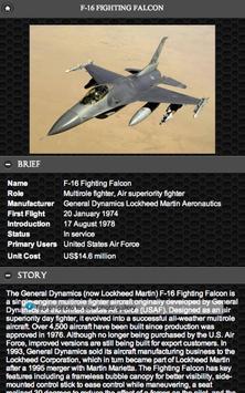 F-16 Fighting Falcon FREE apk screenshot